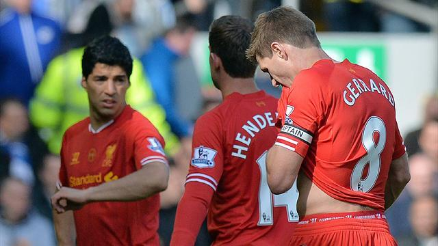 Premier League - Liverpool title dream dies despite win over nine-man Newcastle
