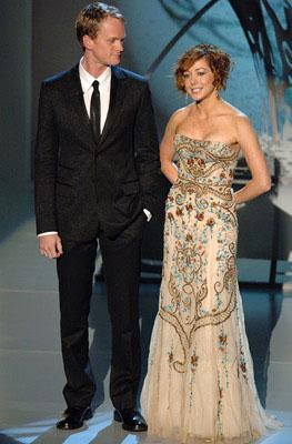 Neil Patrick Harris and Alyson Hannigan Emmy Awards - 9/18/2005