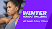 Winter Workouts with Sweat: Britany Williams Barre Class