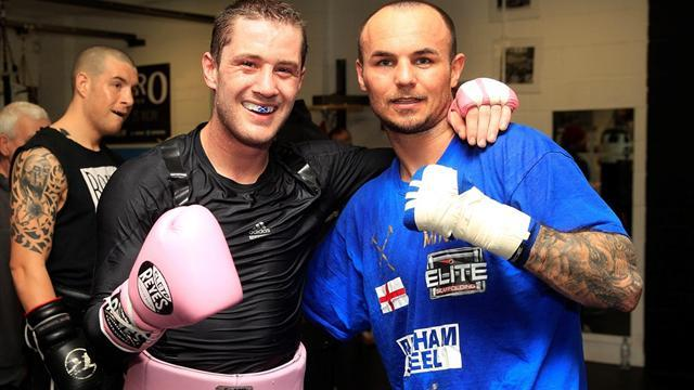 Boxing - Burns spars with old foe Mitchell for Crawford bout