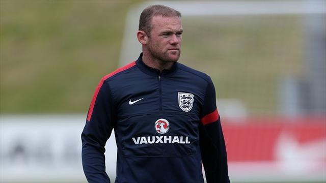 World Cup - Rooney starts for England