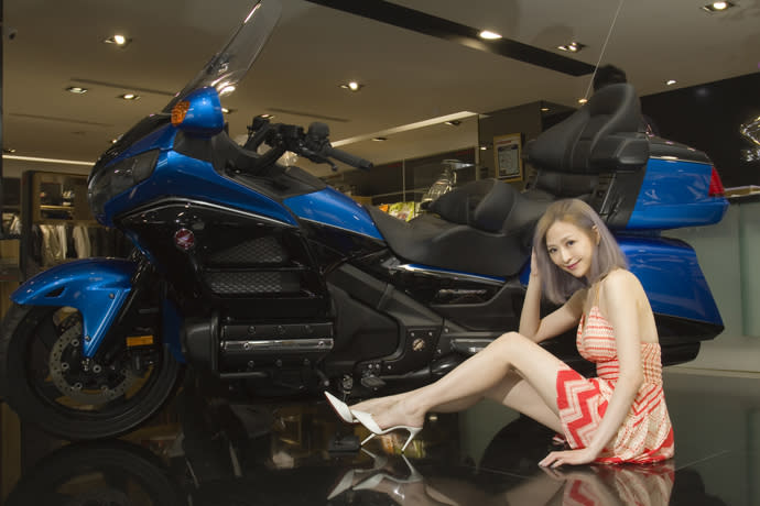 Lucy愛車─Honda Goldwing 1800