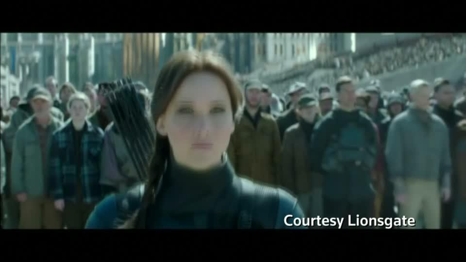 Hunger Games back as box office #1