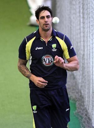Mitchell Johnson has been named in the Australia squad