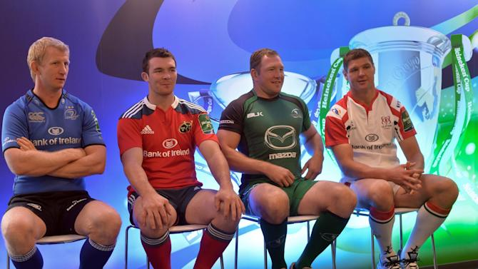 Rugby Union - 2013-2014 Irish Heineken Cup Launch - Sky Ireland