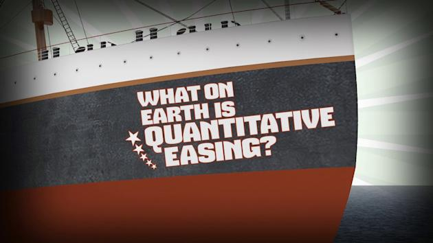 What is quantitive easing?
