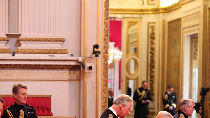 Investitures at Buckingham Palace