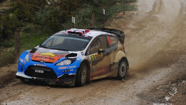 WRC - Ostberg leads from Loeb in Spain