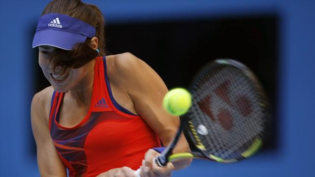 Tennis - Ivanovic starts off with win in Bulgaria