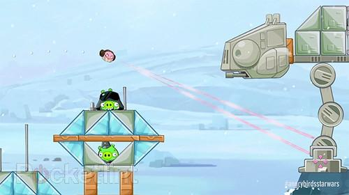 Angry Birds Star Wars free Hoth levels now available. Star Wars, Gaming, Apps, Angry Birds Star Wars, Rovio 0