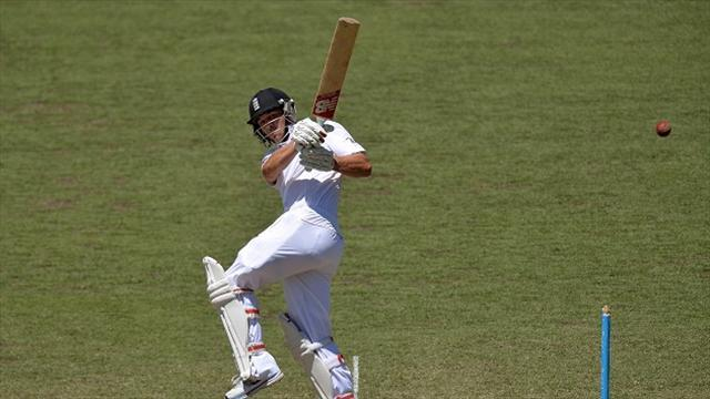 Ashes - Trott and Cook make century stand after Carberry wobble