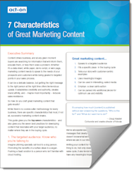 The 7 Characteristics of Great Marketing Content image 7 characteristics of great content