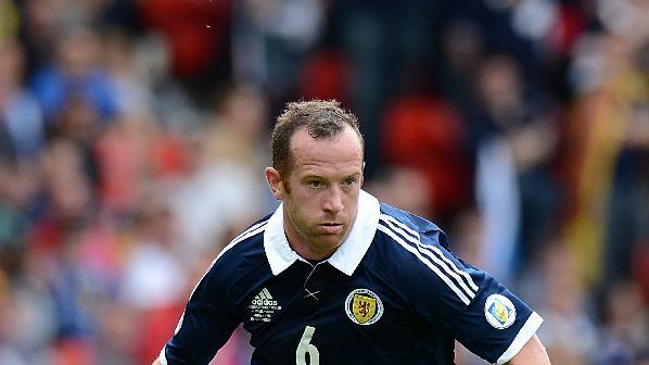 Charlie Adam is one of nine withdrawls from Scotland's squad for Wednesday's friendly