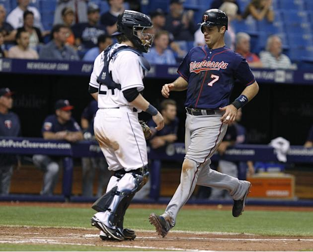 Colabello' 4 RBIs power Twins past Rays 6-4 in 12