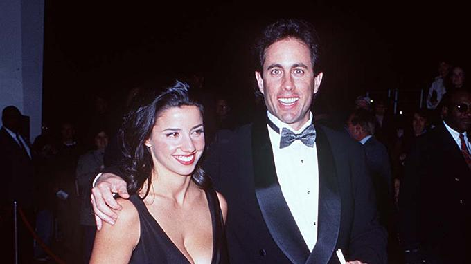 Jerry Seinfeld and Shoshanna Lonstein