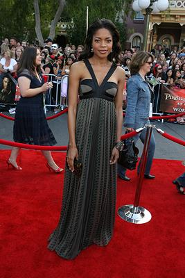 Naomie Harris at the Disneyland premiere of Walt Disney Pictures' Pirates of the Caribbean: At World's End