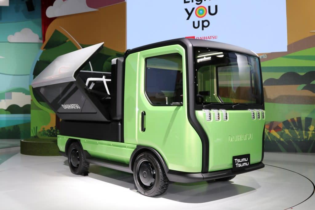 【東京車展】Daihatsu四款概念車展演未來移動新型態!