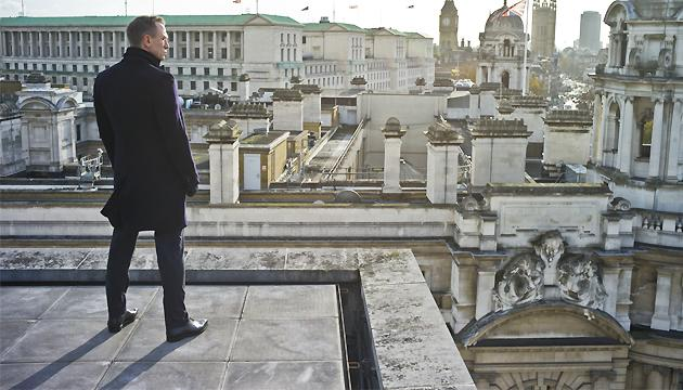 Looking to the future... we chatted 'Bond 24' (Credit: Sony)