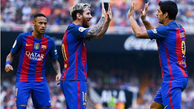 81 per cent win ratio and more goals than Bayern Munich - Two years of Messi, Suarez and Neymar