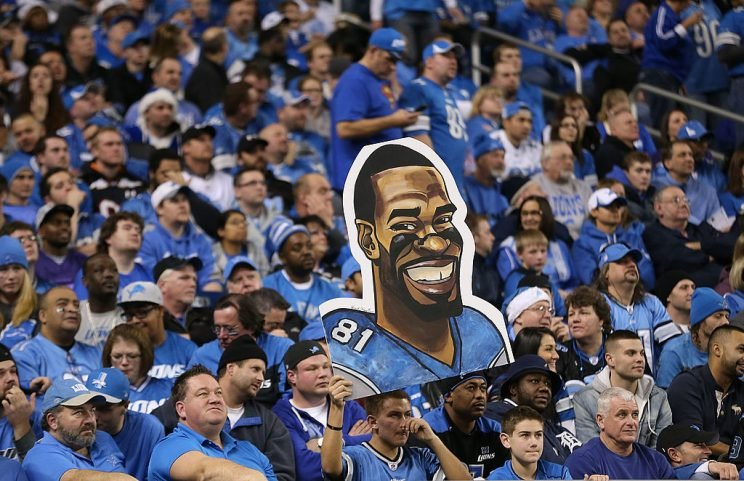 The Detroit Lions are coming off an odd year and attempting to replace an irreplaceable offensive weapon. (Photo by Leon Halip/Getty Images)
