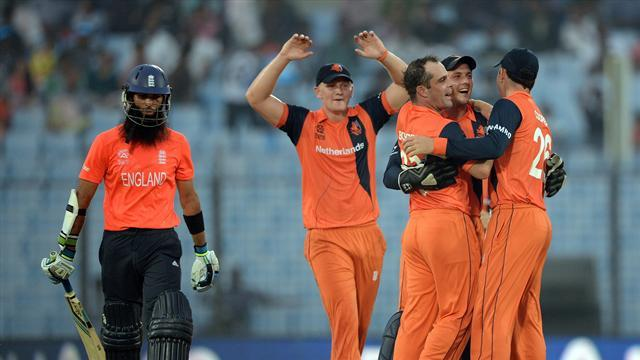 Cricket - Netherlands inflict another humiliating defeat on England