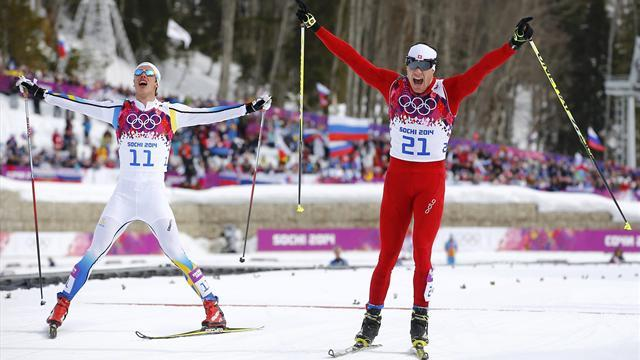 Cross-Country Skiing - Cologna upsets favourites to win skiathlon