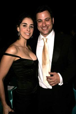 Sarah Silverman and Jimmy Kimmel The 56th Annual Primetime Emmy Awards - Governors Ball