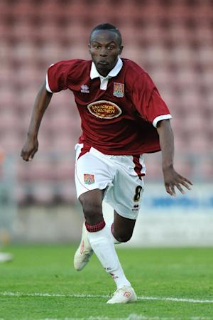Steve Davis could add Abdul Osman (pictured) to his Crewe squad