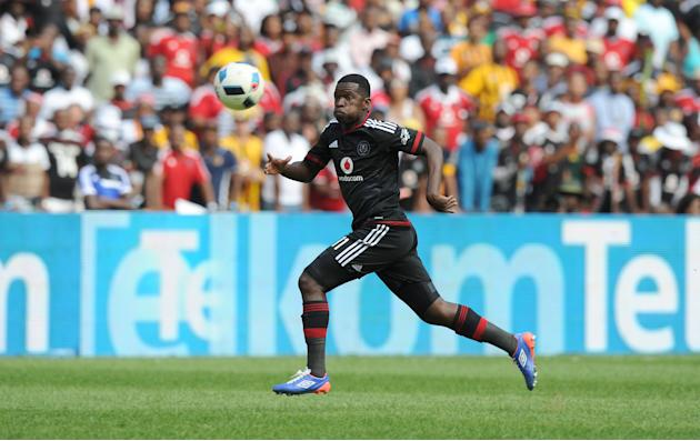 Mbele: Myeni and Masalesa remain Orlando Pirates players