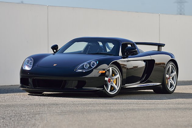 this porsche carrera gt only has 152 miles to its name yahoo sport. Black Bedroom Furniture Sets. Home Design Ideas