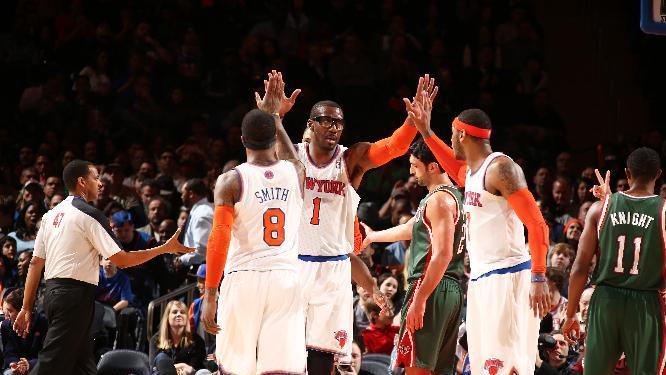 Knicks extend season-best win streak to 6