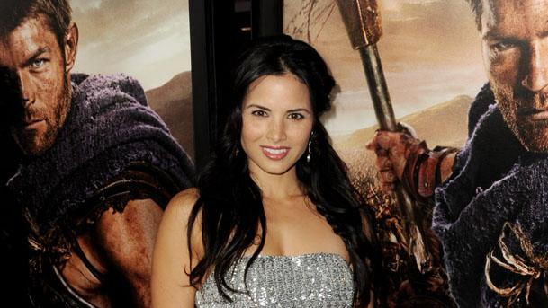 """Premiere Of Starz's """"Spartacus: War Of The Damned"""" - Red Carpet: Katrina Law"""