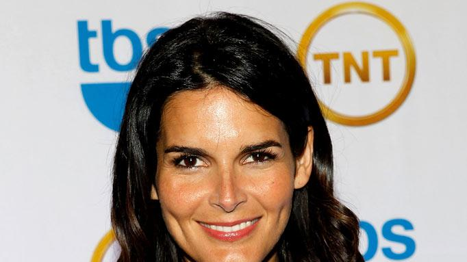 Angie Harmon attends the TEN Upfront presentation at Hammerstein Ballroom on May 19, 2010 in New York City.