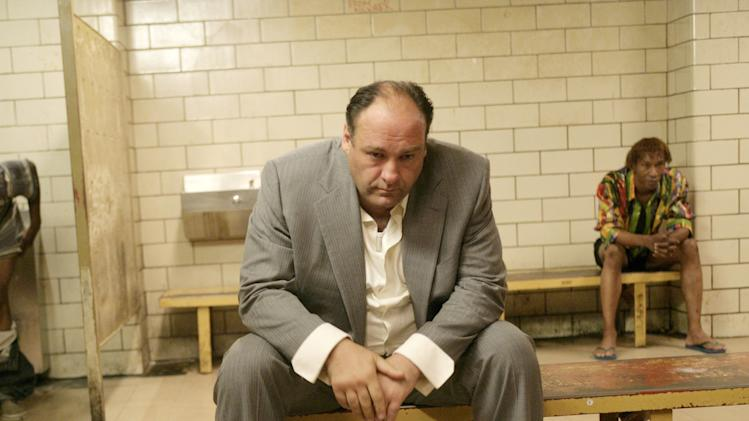 THE SOPRANOS, James Gandolfini, (Season 7), 1999-2007. photo: Craig Blankenhorn / © HBO / Courtesy: Everett Collection