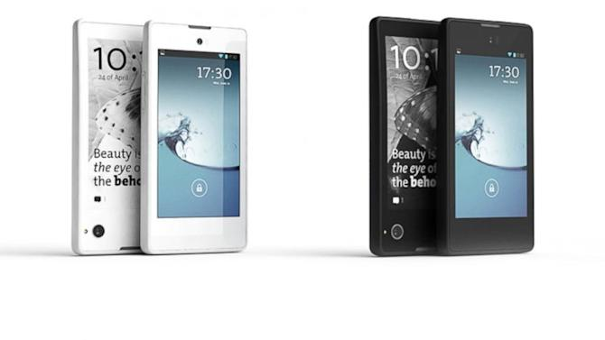 The World's First Double-Sided Smartphone With LCD and E-Ink Displays