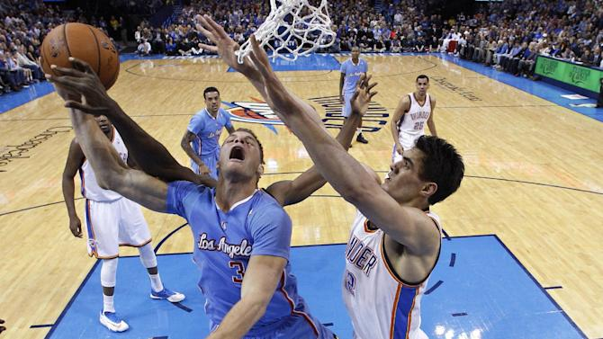 Crawford leads Clippers past Thunder