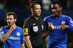 Officials' chief calls for Chelsea to apologize to Clattenburg