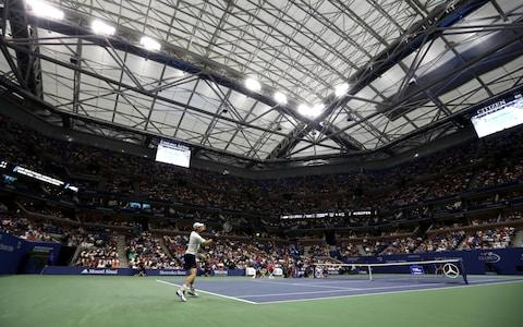Inside Arthur Ashe Stadium - Credit: Getty Images