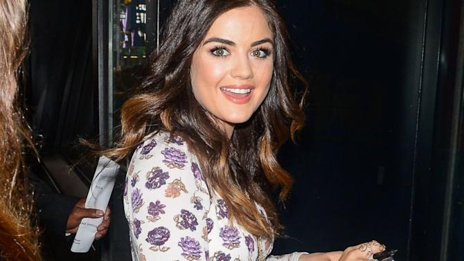 Lucy Hale Details Her 'Very Uncomfortable' Audition for '50 Shades of Grey'