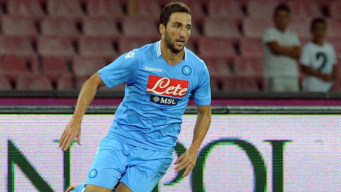 Higuain up for Europe quest