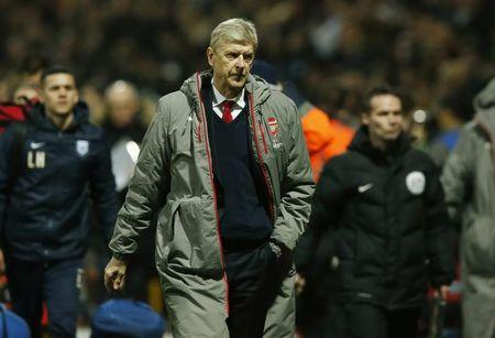 Arsenal manager Arsene Wenger at the end of the match