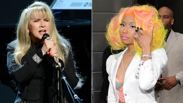 Stevie Nicks / Nicki Minaj -- Getty Images