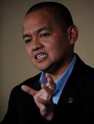 Muslim rebels waging a decades-long insurgency in the southern Philippines in which more than 150,000 people have died are aiming to sign a roadmap for peace this year, their chief negotiator said. The government is also aiming to sign the roadmap this year, according to its chief negotiator, Marvic Leonen (pictured in 2011)