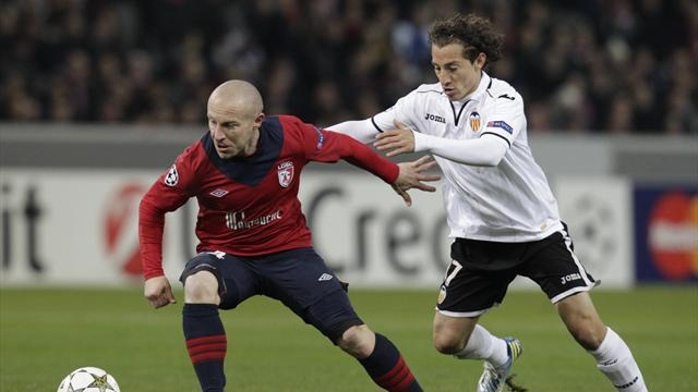 Champions League - Valencia claim second spot with Lille win