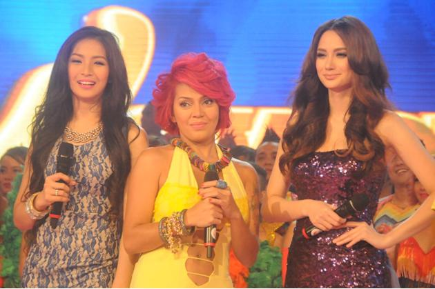 Wowowillie new co-hosts Ava Jugueta of PYT, Ethel Booba and TV5 princess Arci Munoz