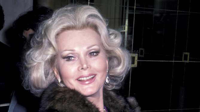 Gabor Zsa Zsa File Photo