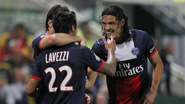 Ligue 1 - PSG claim first win of season at Nantes