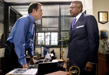 Hugh Laurie and Forest Whitaker in Fox Searchlight Pictures' Street Kings