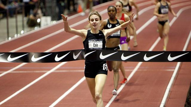 Athletics - American Cain out of world indoor championships