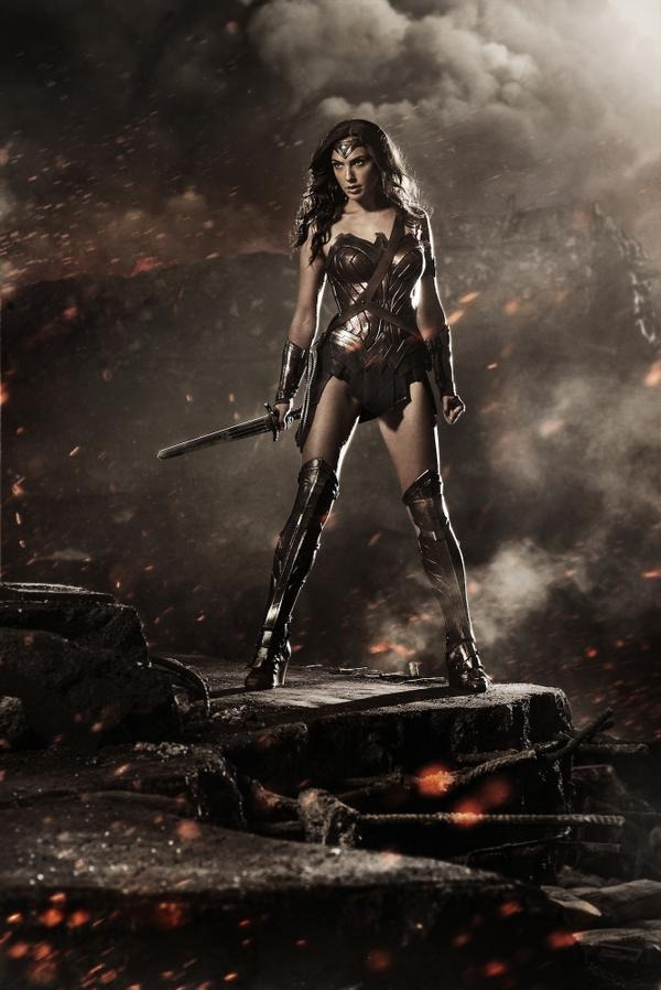 Wonder Woman is a Demigod in 'Batman v Superman: Dawn of Justice'